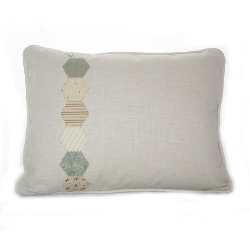 Linen Hexagon Pillow