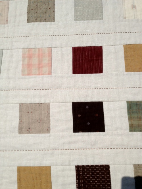 Blocks and stitching