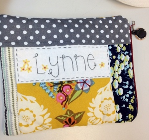 Personalized pouch - front