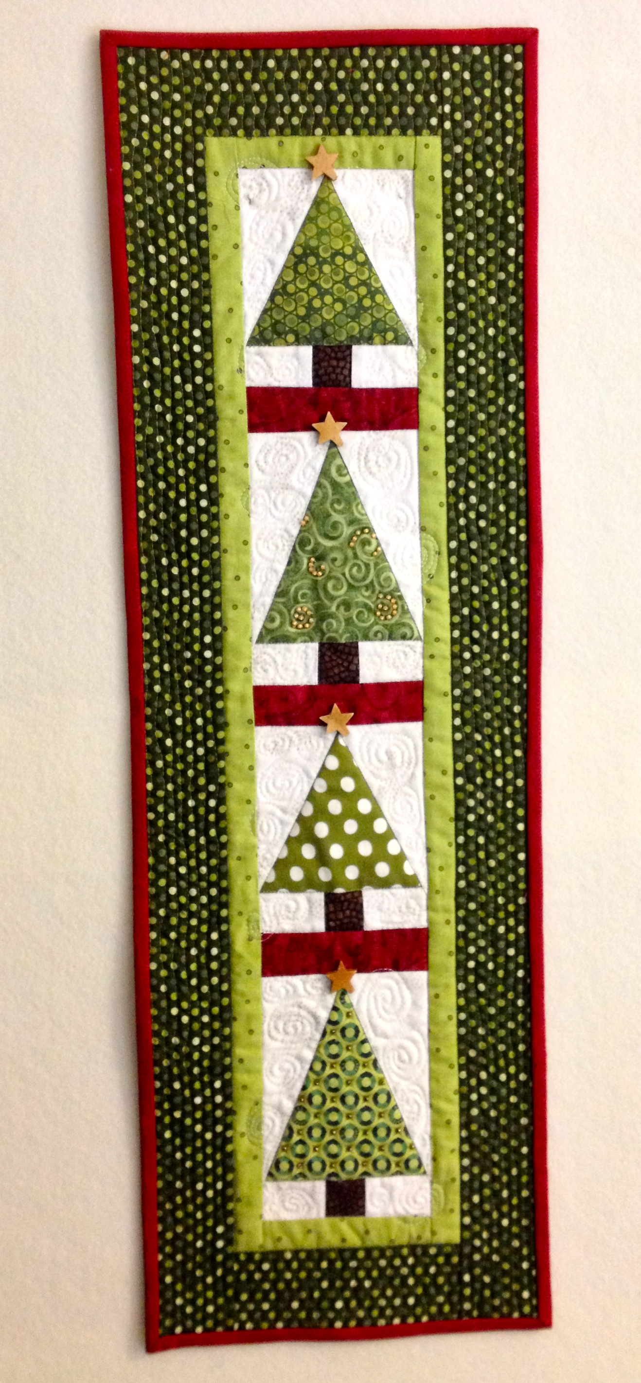 christmas tree wall hanging i finally have time