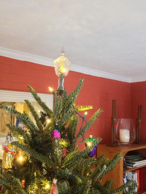 Crystal tree topper