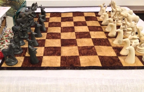 Fabric Chess Board