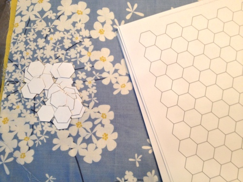 1/2 inch hexagons - sigh!