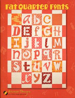 Fat Quarter Fonts by Atkinson Designs