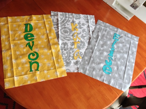 Other 3 totes in progress.