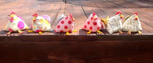 My pincushions