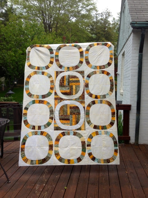Quilt top is done!
