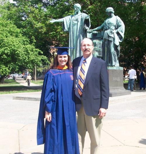 Grad school graduation