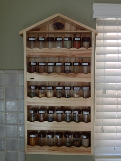 Best spice rack ever! Holds 35 bottles.