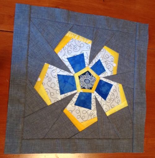 "Block for ""Quilts for Boston"""