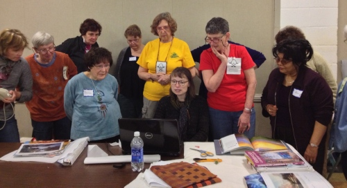 Sue Benner with the NCCC workshop group