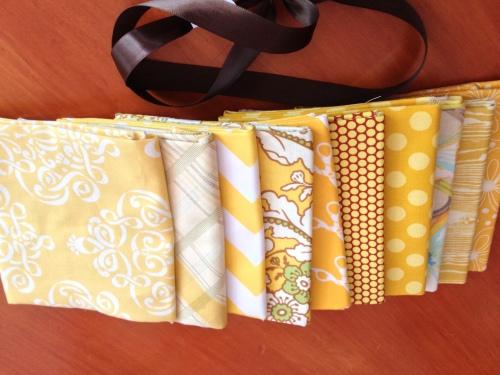 Fabric bundle from Del Ray Fabrics
