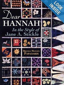 Dear Hannah book from Amazon website