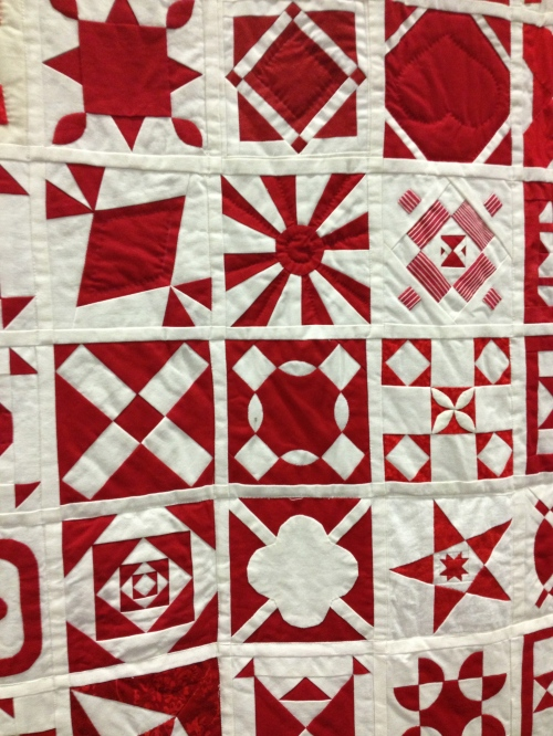 Detail of quilt above.