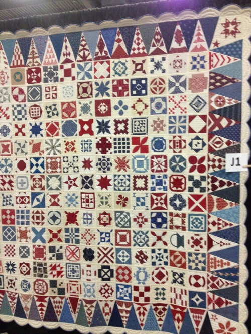 The Spirit of Jane Stickle. Group quilt.