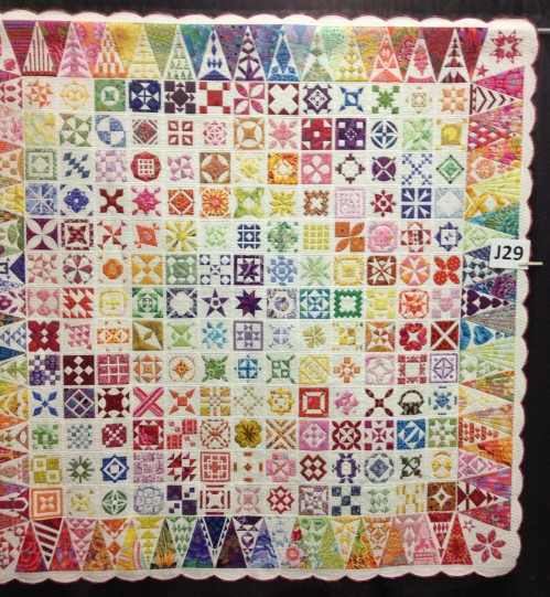Newfangled Jane! by Gwen Nishida of Irvine, CA.  Quilted by Judi Madsen.