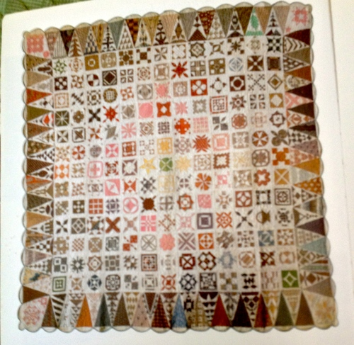 Quilt by Jane A. Stickle. From the Collection of the Bennington Museum in VT.