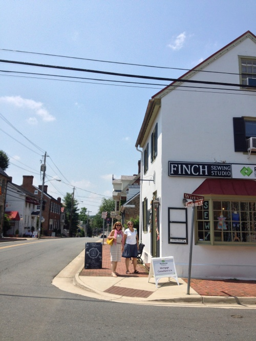 The Finch Sewing Studio is Leesburg, VA