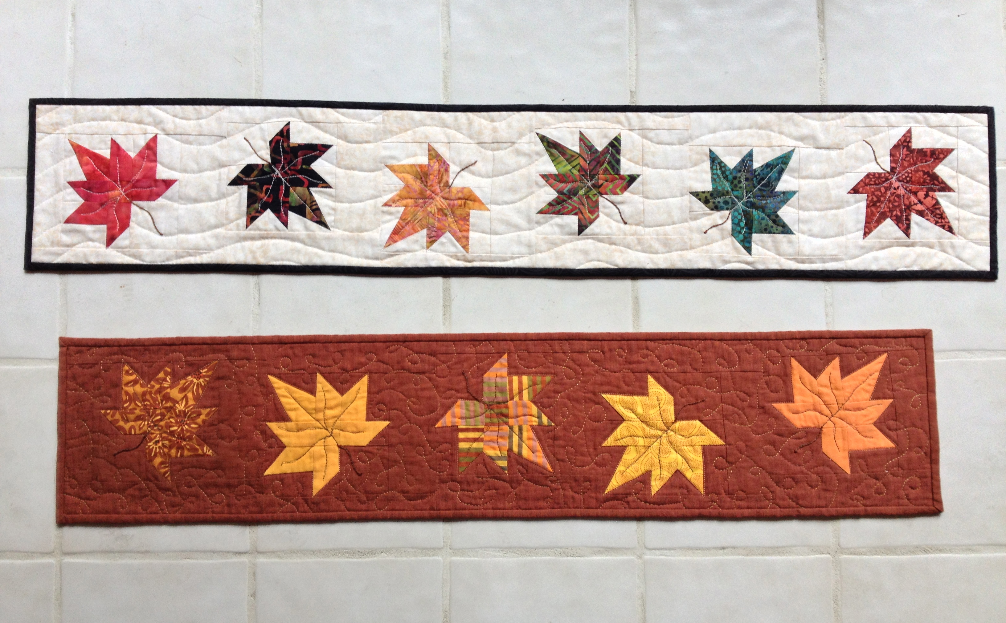 Maple Leaf Table Runner