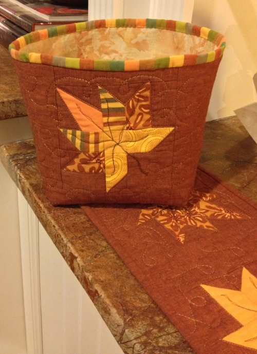"Fabric ""basket"""