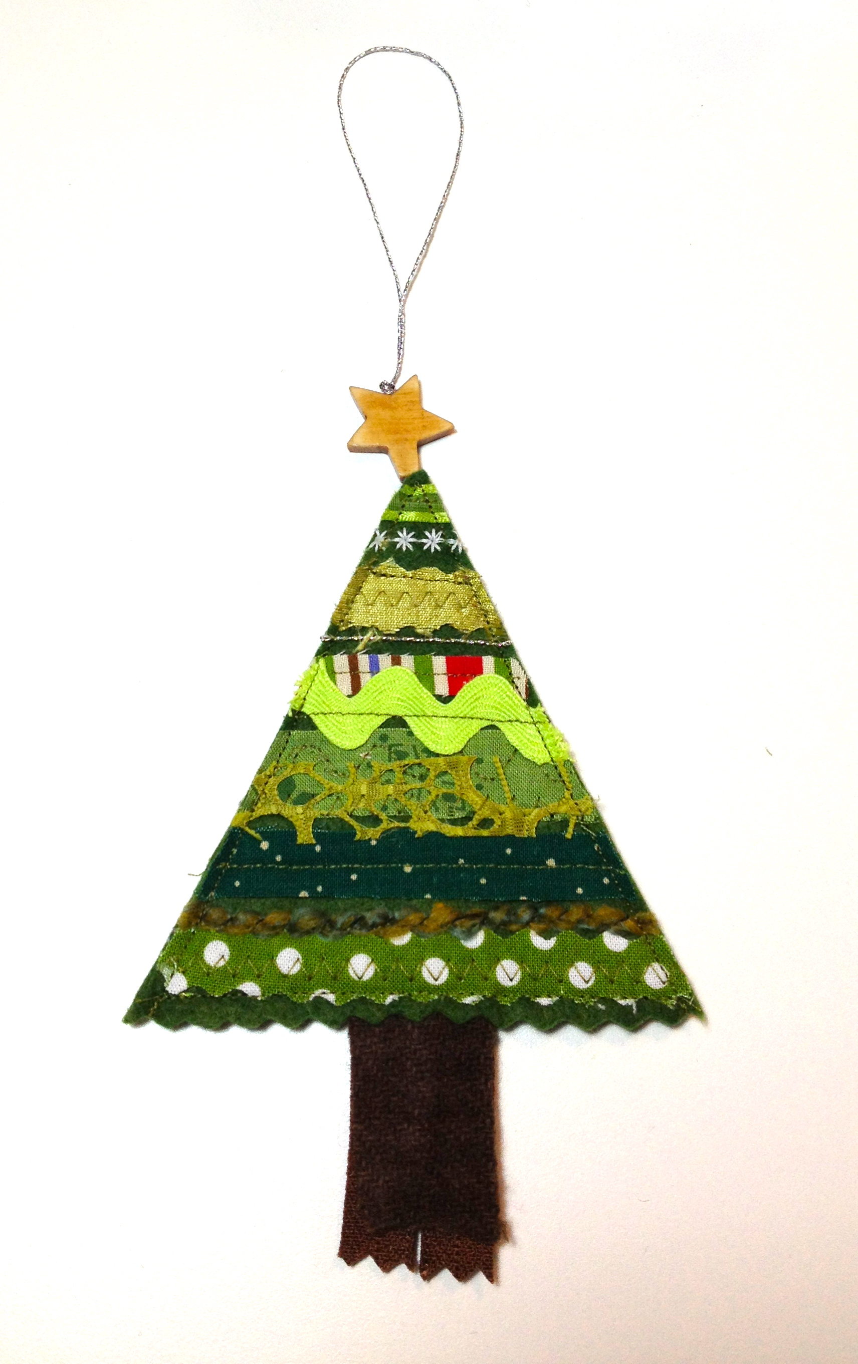 felt christmas tree ornaments | I Finally Have Time