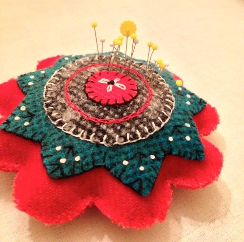 Wool pincushion
