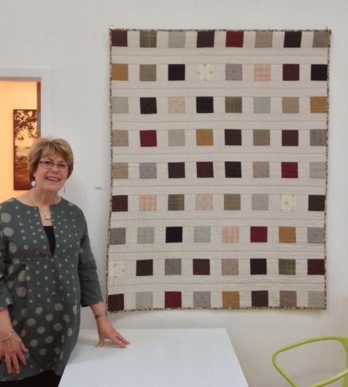 "Linda Fasules with ""Zakka Style Quilt"""