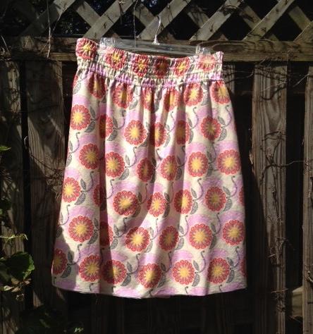 Anne's skirt.