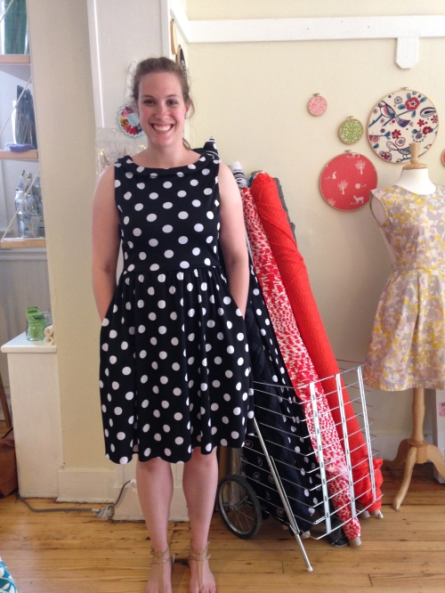 Knit Moneta dress by Colette