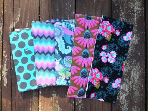 Mix of fabrics