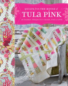 Angela quilted this quilt that is on the cover of Tula Pink's book (and all of the quilts inside).