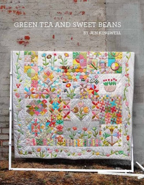 Green Tea and Sweet Beans by Jen Kingwell