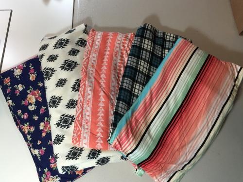 Girl Charlee KnitFix fabrics from December
