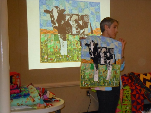 """The quilt she thought she'd """"never"""" make."""