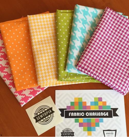 Michael Miller Fabric Challenge fabrics