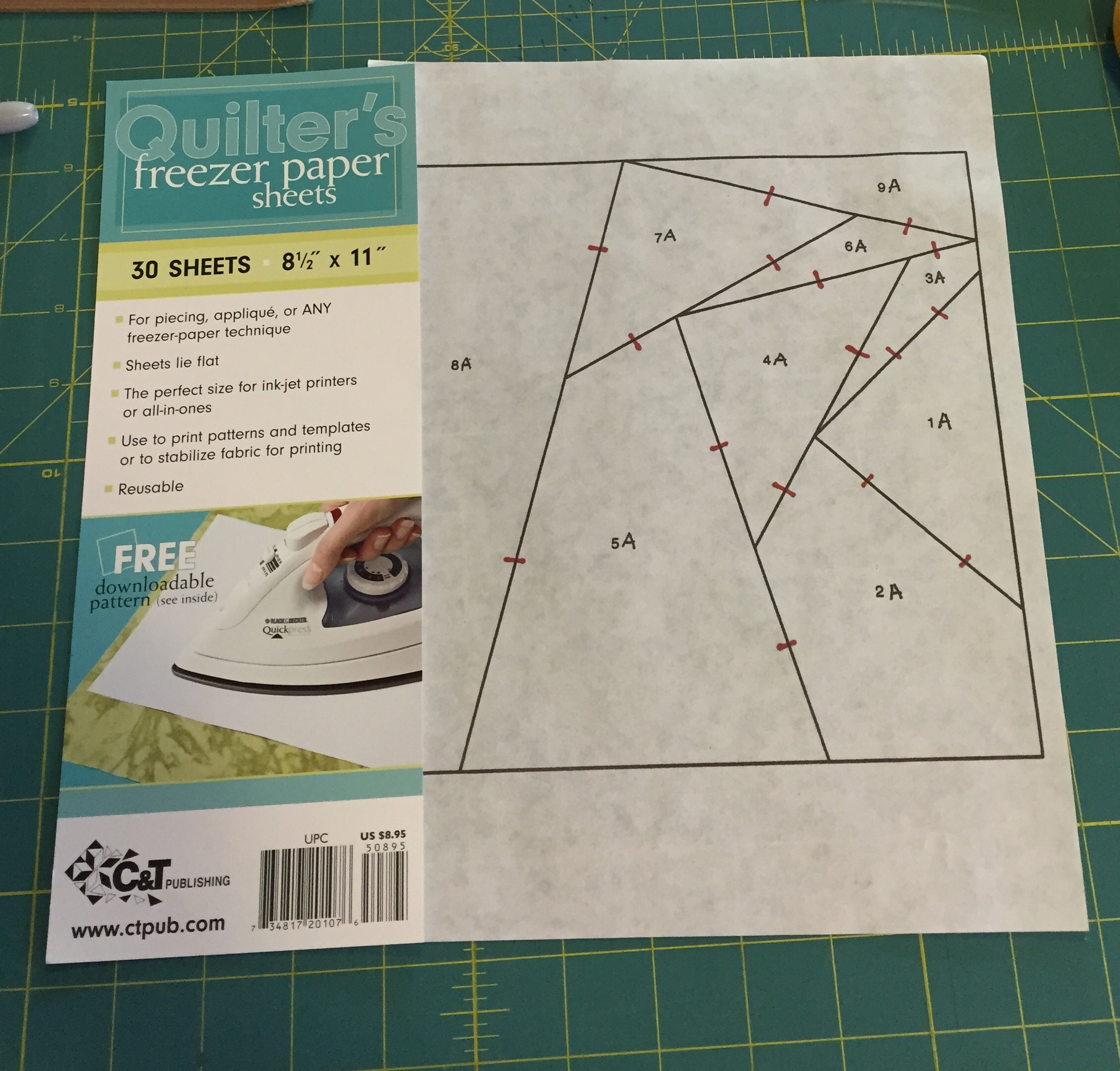 foundations paper Karen johnson, of connecting threads, teaches you the most common version of foundation piecing - usually known as paper piecing achieve perfect points on.